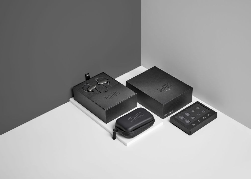 Status Audio packaging designed by Ryan Paonessa